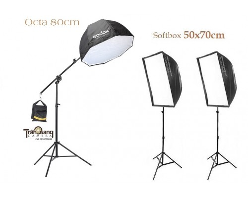 Softbox OCTA 80CM & flash