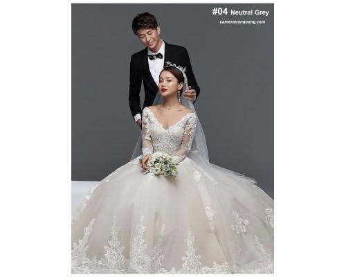 Màu só 04 Neutral Grey  - Wedding photo