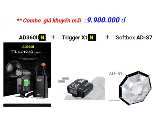 Godox AD360II-N for Nikon