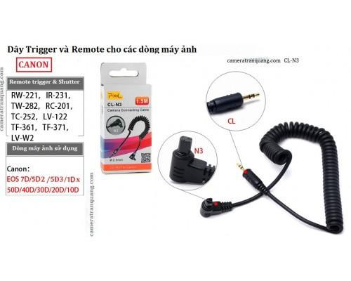 Dây CL-N3 remote CANON 5D2 5D3 7D
