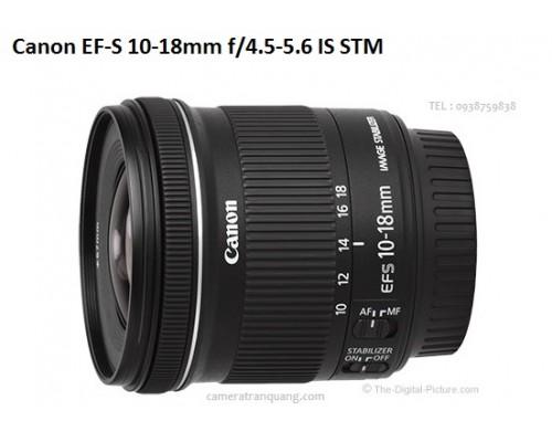 EF-S 10-18mm f4.5-5.6 IS STM