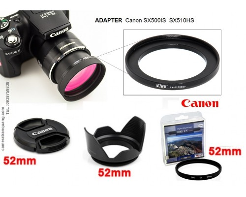 Adapter Canon SX500iS SX510HS SX520HS SX400iS