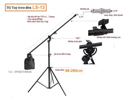 Bộ Tay treo đèn DP600II và chân