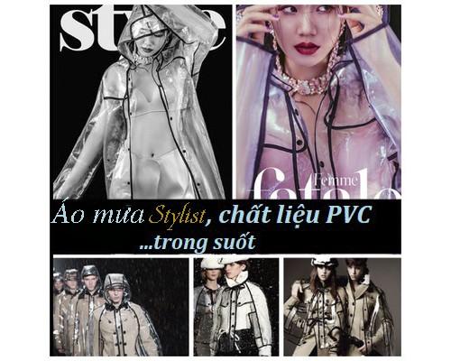 Áo mưa PVC Stylist