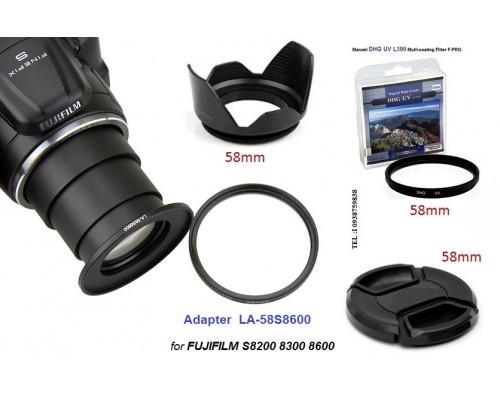 Adapter FujiFilm S8500 S8600