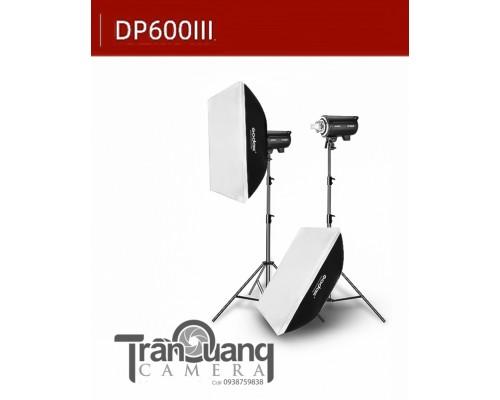 Bộ đèn softbox DP600 III  600W