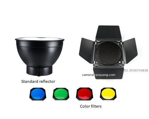 Color Barndoor & Standard Reflector