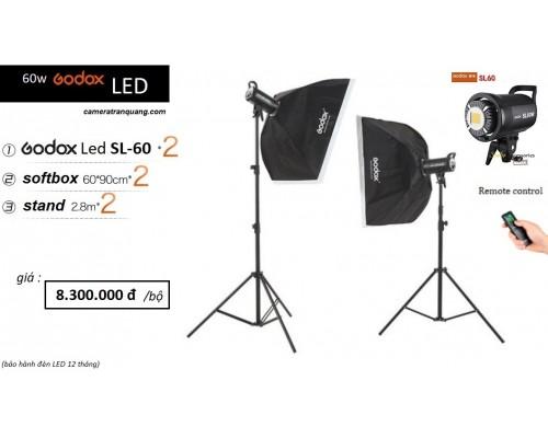 Đèn LED  SL60 Bowens