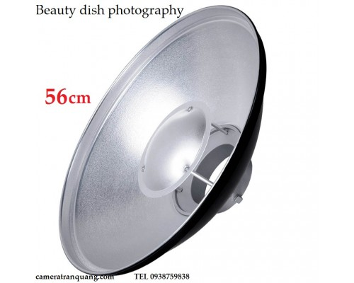 BeautyDish 56cm & honeycomb