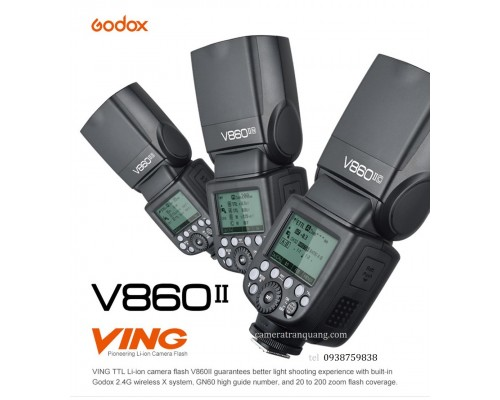 GODOX v860II for Canon & Nikon