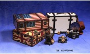 Bộ Vali cỗ England American