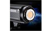 Bộ đèn softbox Tròn &  LED