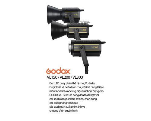 Godox VL150 Đèn LED chụp hình
