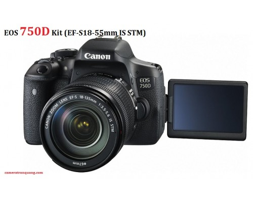 EOS 750D 18-55mm IS STM