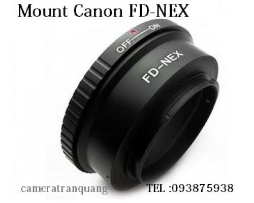Canon FD-NEX