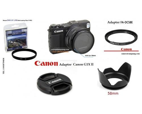 Adapter Canon G1X mark II
