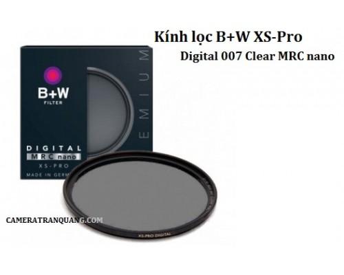 (Protect) B+W XS-Pro Clear MRC nano