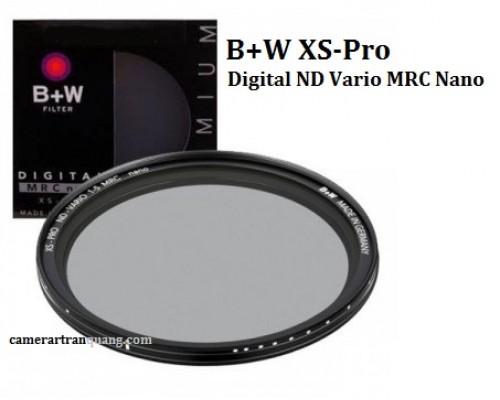(ND) B+W XS-Pro ND Vario MRC Nano