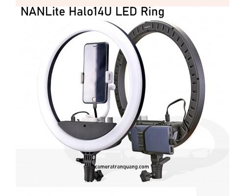 NANLite Halo14U LED Ring Light (Built-in battery)