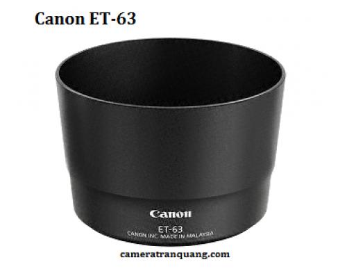 Canon ET-63 for Canon 55-250STM