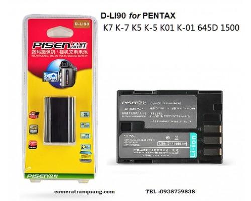 Pin PENTAX D-Li90