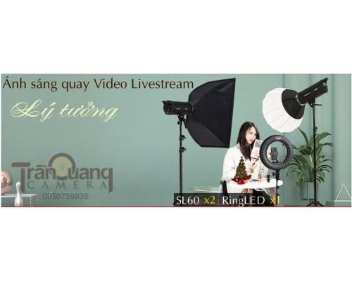 Bộ Ánh sáng quay Video Livesream
