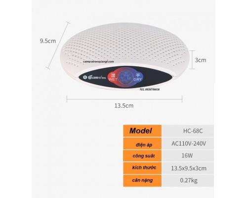 Máy hút ẩm MODEL HC-68c