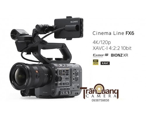 Sony Creative Pro ILME-FX6V