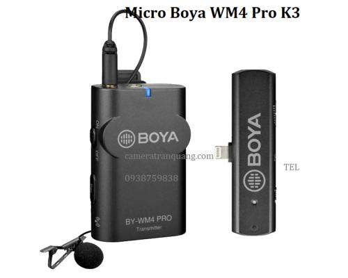 Boya WM4 Pro K3 cổng Lightning