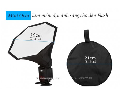 Softbox MINI OCTA 14-19-28cm