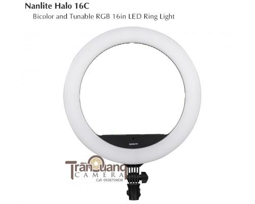 Nanlite Halo 16C RGB LED Ring Light