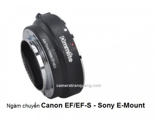 Ngàm chuyển Commlite Canon EF/EFS - E mount