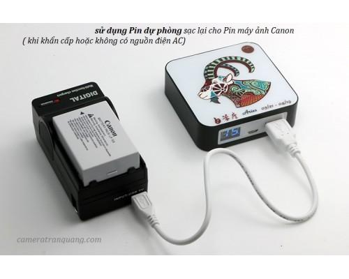 Sạc pin đa năng USB cho máy ảnh máy quay