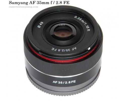 Samyang AF 35mm 2.8 FE