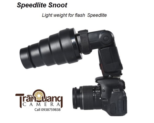 Snoot Flash speedlite