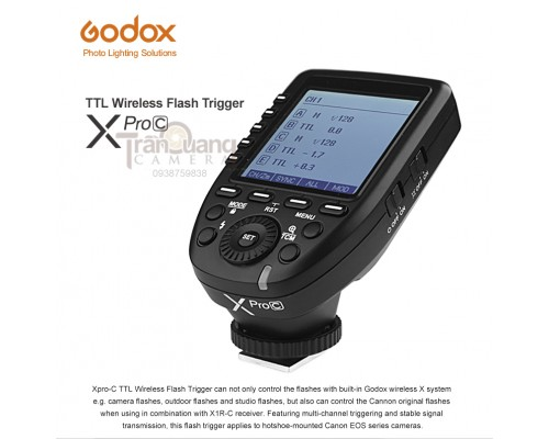 Xpro-C TTL Wireless Flash Trigger