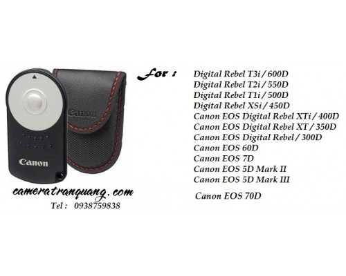 RC6 Canon Remote