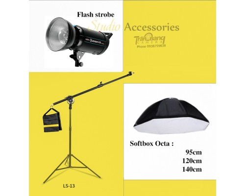 Bộ Tay treo đèn và chân