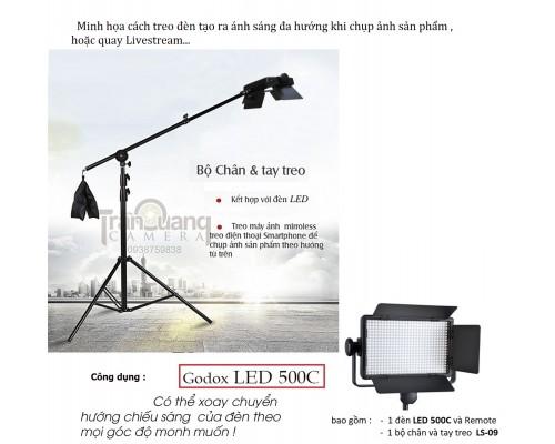 Professional LED Video Light LED500C