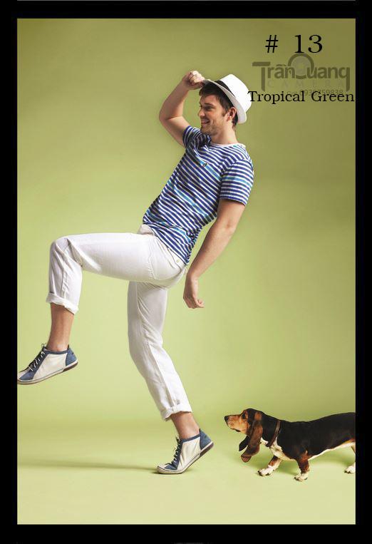 Phông màu số 13 Tropical Green