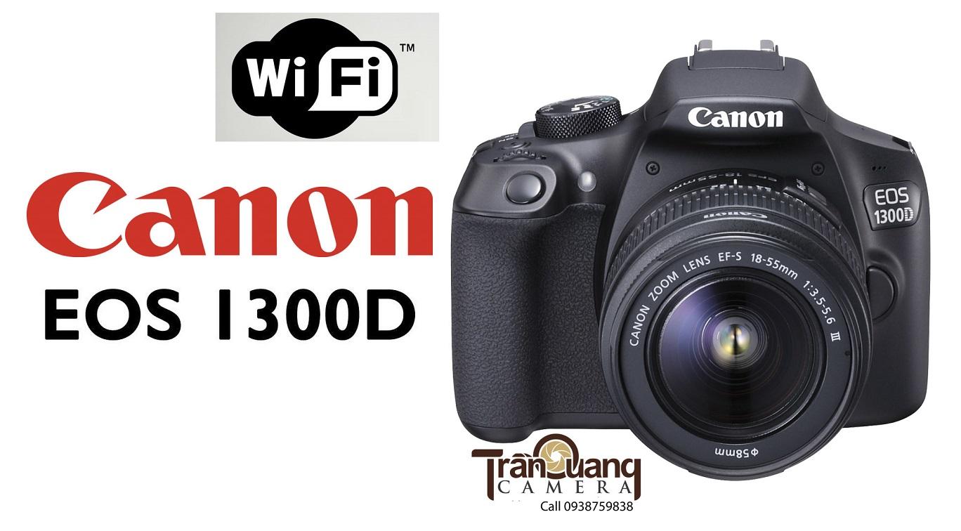 Máy ảnh chụp ảnh sản phẩm Canon EOS 1300D