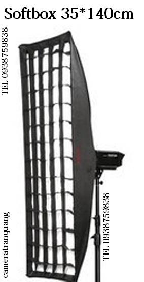 Softbox 35x140cm cho ngàm đèn Bowen