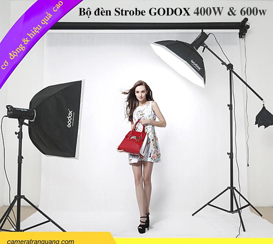 Bộ COMBO đèn GODOX 400w & 600w