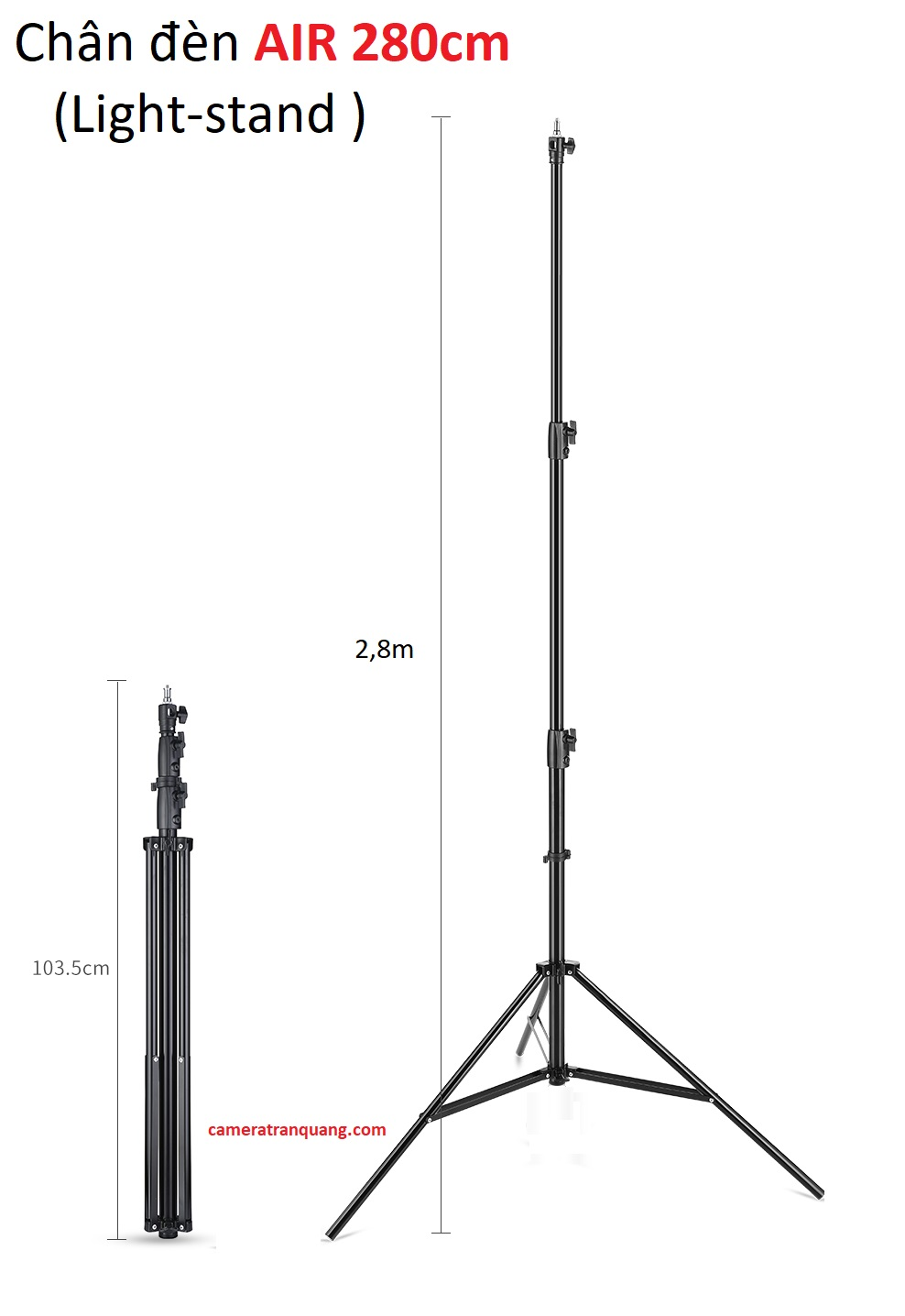 Chân AIR 2,8M  Light-WEIGHT