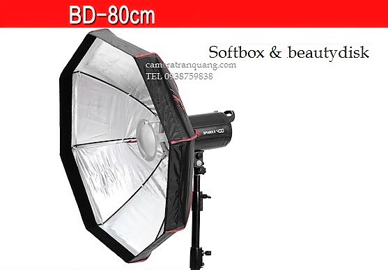 Softbox beautydisk xếp gọn BD 80