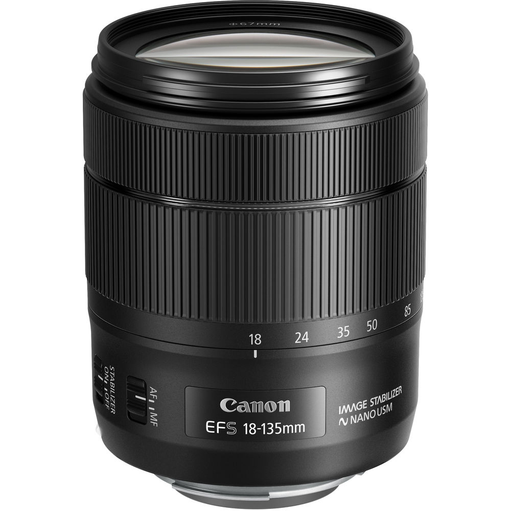Canon EF-S 18-135mm F3.5-5.6 IS USM (thế hệ II)