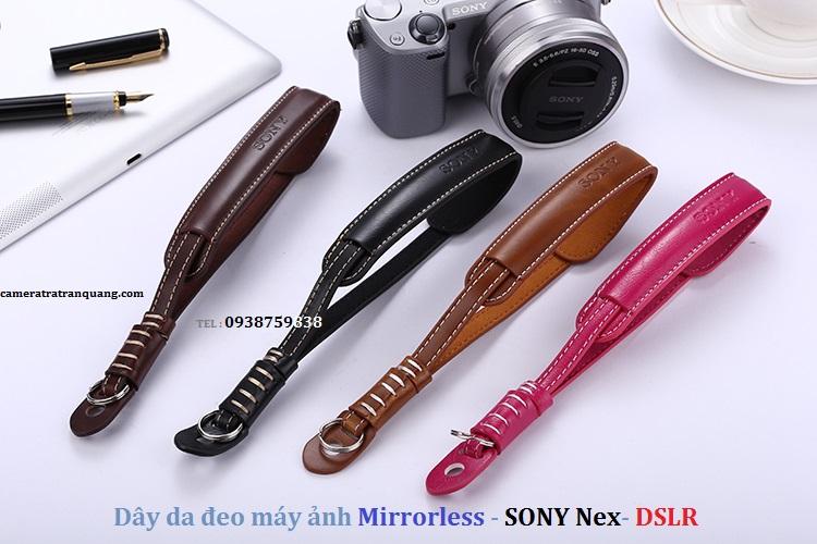 Dây DA đeo máy ảnh Mirrorless -NEX -DSLR