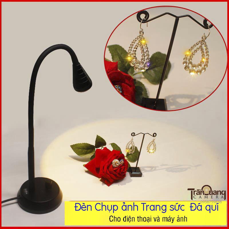Đèn LED chuyên chụp nữ trang & đá trang sức