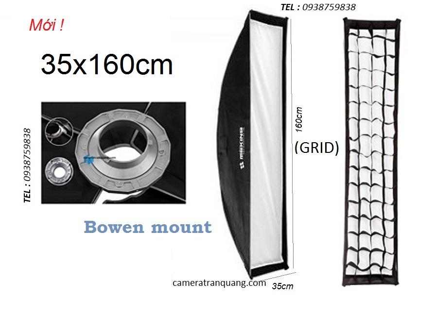 Softbox Striplight  30x120cm GRID