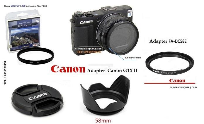 Adapter Canon G1X II DC58E
